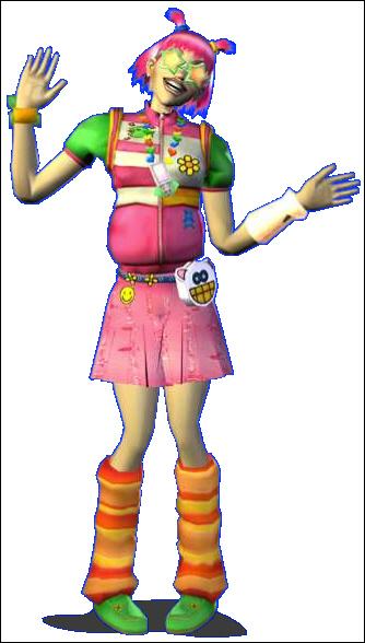 Urbz Neon East Character